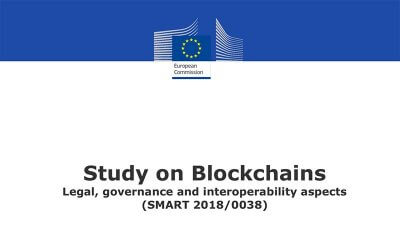 Blockchain's Legal, governance and interoperability aspects