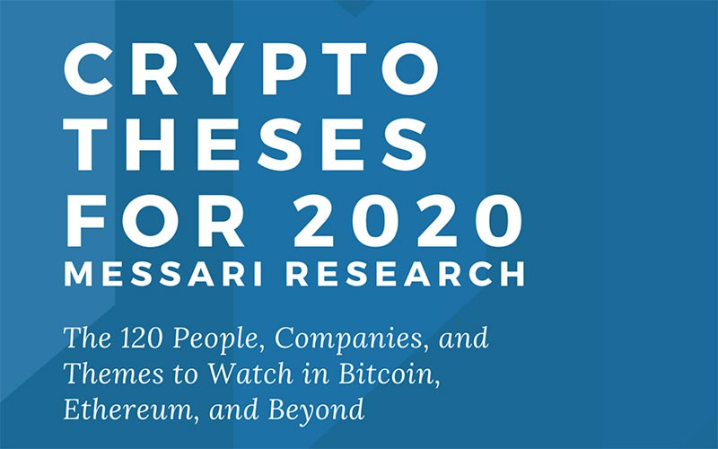 Crypto Theses for 2020