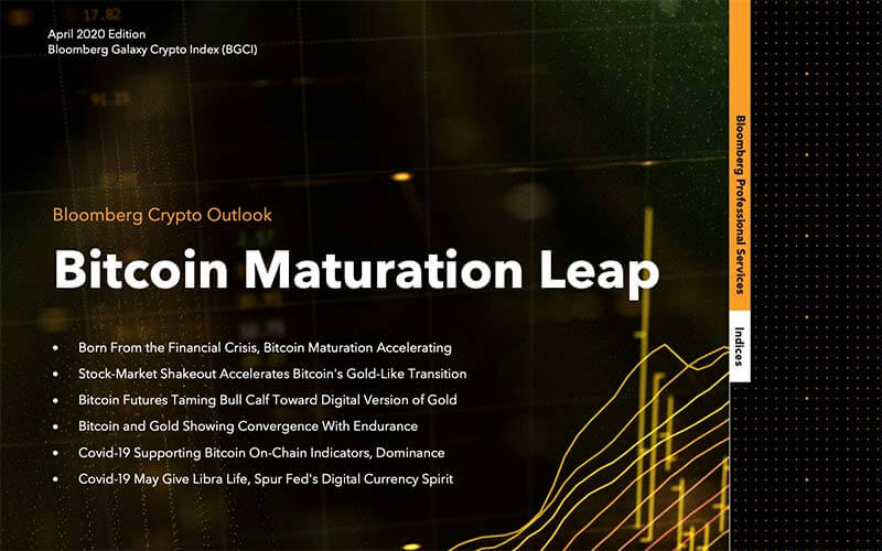Bloomberg | Bitcoin Maturation Leap