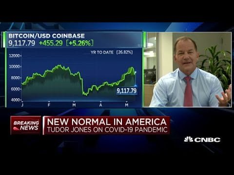 Paul Tudor Jones: Bitcoin is a 'great speculation'
